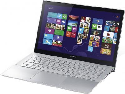 Ноутбук Sony Vaio SVP1321M2RS - общий вид