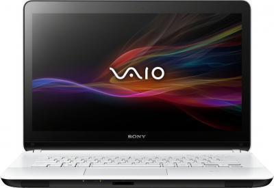 Ноутбук Sony Vaio SVF1521R2RW - фронтальный вид