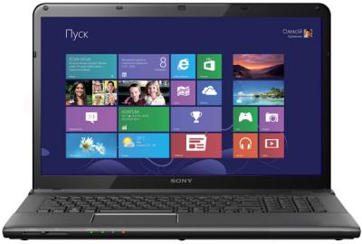 Ноутбук Sony Vaio SVE1713P1RB - общий вид