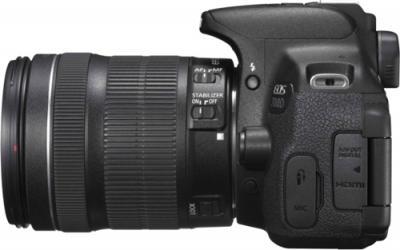 Зеркальный фотоаппарат Canon EOS 700D Kit 18-135 STM - вид сбоку