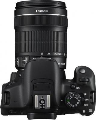 Зеркальный фотоаппарат Canon EOS 700D Kit 18-135 STM - вид сверху
