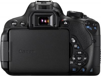 Зеркальный фотоаппарат Canon EOS 700D Kit 18-135 STM - вид сзади