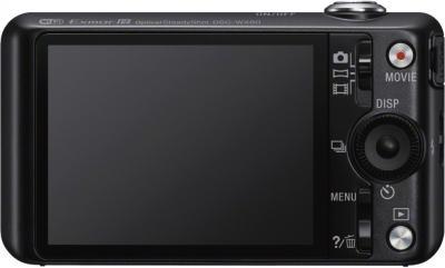 Компактный фотоаппарат Sony Cyber-shot DSC-WX80 Black - вид сзади