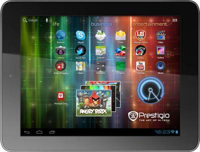 Планшет Prestigio MultiPad 8.0 Prime Duo (PMP5780D_DUO) 16GB - горизонтальный вид