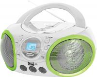 Магнитола BBK BX100U White-Green -