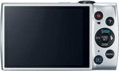 Компактный фотоаппарат Canon PowerShot A2600 Silver - вид сзади