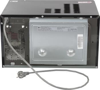 Микроволновая печь LG MB4063AL - вид сзади