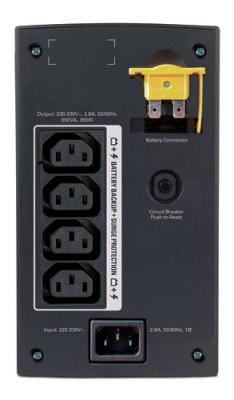 ИБП APC Back-UPS 650VA (BX650CI) - вид сзади