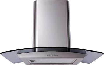 Вытяжка купольная Backer QD60A-G6L120 (60, нержавейка/темное стекло) - общий вид