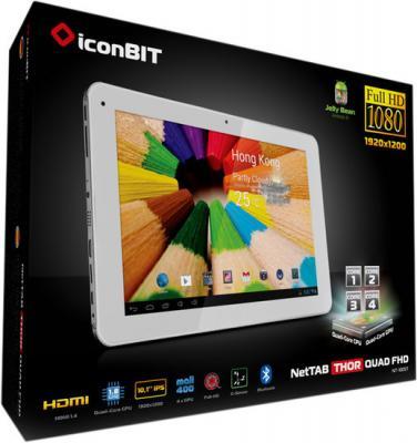 Планшет IconBIT NetTAB Thor Quad FHD 16GB (NT-1005T) - коробка