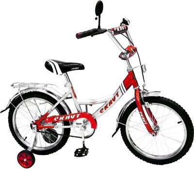 Детский велосипед Скаут BC-162 Красный - общий вид