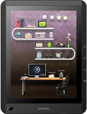 Электронная книга TeXet TB-719A (Black) - общий вид
