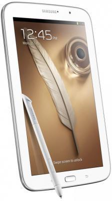 Планшет Samsung Galaxy Note 8.0 16GB 3G Pearl White (GT-N5100) - сбоку