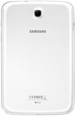 Планшет Samsung Galaxy Note 8.0 16GB 3G Pearl White (GT-N5100) - вид сзади