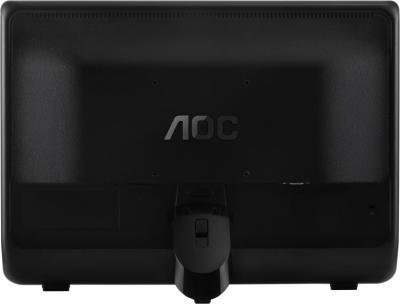 Монитор AOC E966SWN - вид сзади