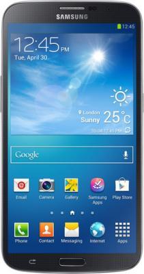 Смартфон Samsung I9200 Galaxy Mega 6.3 16Gb Black (GT-I9200 ZKASER) - вид спереди