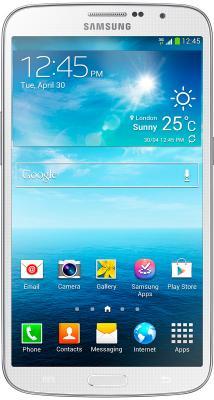 Смартфон Samsung I9200 Galaxy Mega 6.3 16Gb White (GT-I9200 ZWASER) - вид спереди