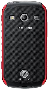 Смартфон Samsung S7710 Galaxy Xcover 2 Black-Red (GT-S7710 KRASER) - вид сзади