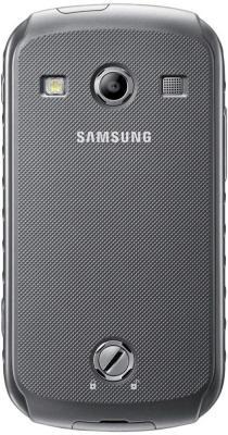 Смартфон Samsung S7710 Galaxy Xcover 2 Gray (GT-S7710 TAASER) - вид сзади