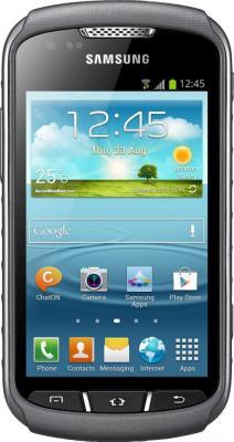 Смартфон Samsung S7710 Galaxy Xcover 2 Gray (GT-S7710 TAASER) - вид спереди