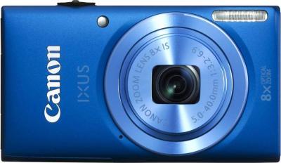 Компактный фотоаппарат Canon DIGITAL IXUS 132 (голубой) - общий вид