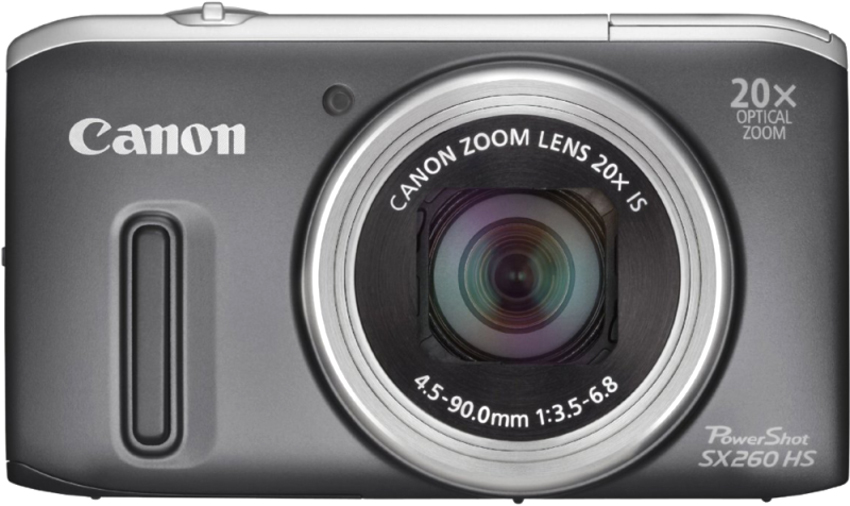 PowerShot SX260 HS Gray 21vek.by 2346000.000
