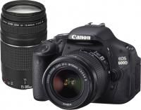 Фотоаппарат Canon EOS 600D Double Kit 18-55mm III + 75-300mm III -