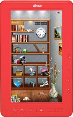 Электронная книга Ritmix RBK-431 (красный) - общий вид