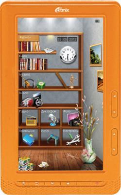 Электронная книга Ritmix RBK-431 (оранжевый) - общий вид