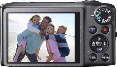 Компактный фотоаппарат Canon PowerShot SX270 HS Gray - вид сзади
