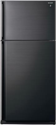Холодильник с морозильником Sharp SJ-SC55PVBK - общий вид