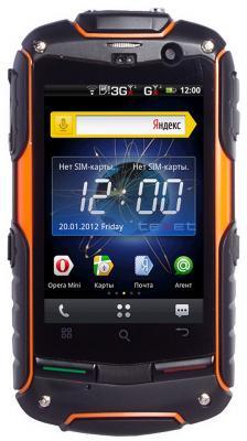 Смартфон TeXet TM-3204R - вид спереди