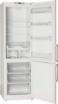 Холодильник с морозильником ATLANT ХМ 6324-101 - с открытой дверью