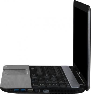 Ноутбук Toshiba Satellite L850-E8S (PSKG8R-05X003RU) - вид сбоку
