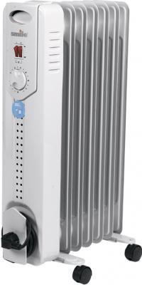 Масляный радиатор Smile RO 1547S Gray - общий вид