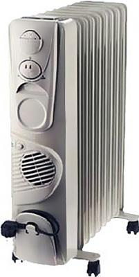 Масляный радиатор Smile RO 1531F Gray - общий вид