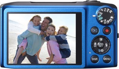 Компактный фотоаппарат Canon PowerShot SX270 HS Blue - вид сзади