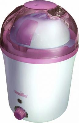 Йогуртница Smile MK3001 (White-Pink) - общий вид