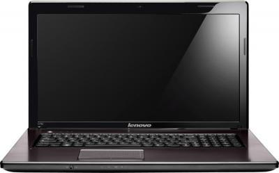 Ноутбук Lenovo IdeaPad G780 (59360038) - фронтальный вид