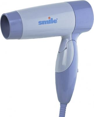 Компактный фен Smile HD 1032 (фиолетовый) - общий вид