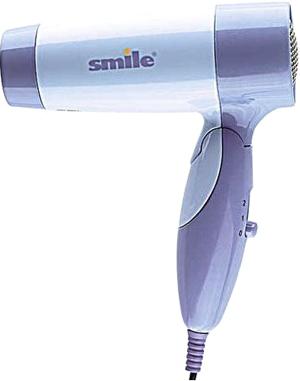 Компактный фен Smile HD 1404 Purple - общий вид