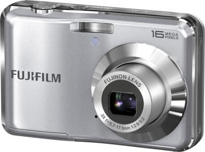 Компактный фотоаппарат Fujifilm FinePix AX650 Silver - общий вид