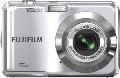 Компактный фотоаппарат Fujifilm FinePix AX650 Silver - вид спереди