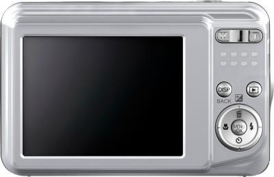 Компактный фотоаппарат Fujifilm FinePix AX650 Silver - вид сзади