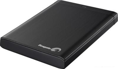 Внешний жесткий диск Seagate Backup Plus Portable Black 750GB (STBU750200) - общий вид
