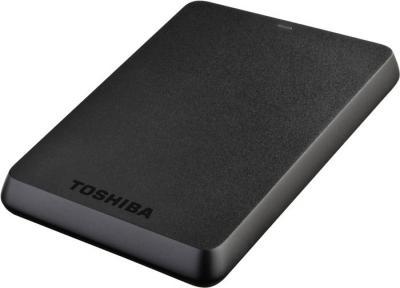 Внешний жесткий диск Toshiba Stor.E Basics 750GB Black (HDTB107EK3AA) - общий вид