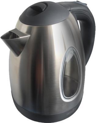 Электрочайник Smile WK5102 Inox-Black - общий вид