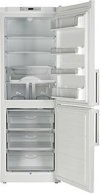 Холодильник с морозильником ATLANT ХМ 6321-181 - с открытой дверью