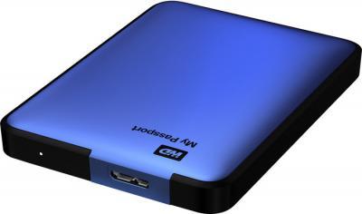 Внешний жесткий диск Western Digital My Passport 500GB Blue (WDBZZZ5000ABL) - общий вид