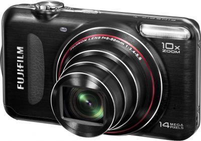 Компактный фотоаппарат Fujifilm FinePix T300 Black - общий вид